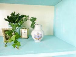 Retró búzavirág mintás Kiev orosz porcelán váza