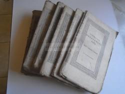 G028.15 TUDOMÁNYOS GYŰJTEMÉNY 1831,32,34  - 7 kötet - Pesten, Trattner és Károlyi.