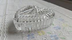 Bonbonier szív alakú ólomkristály eladó!