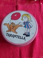 Tarantella kekszes fém doboz eredeti címkéjével