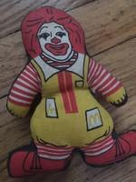 Ronald McDonald figura az 1980-as évekből