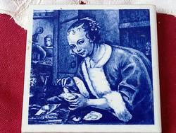 012 Kerámia falikép csempe 18 cm