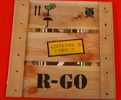 Bakelit lemez - R-GO - Szeretlek is + nem is