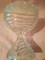 ÁK02 üveg cukortartó kínáló kehely