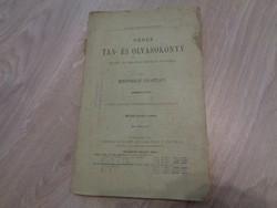 Német tan-és olvasókönyv 1900-ból
