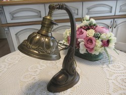 Szép réz asztali lámpa