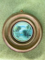 Fábián Rózsa porcelán kép