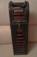 Drink storage wooden box