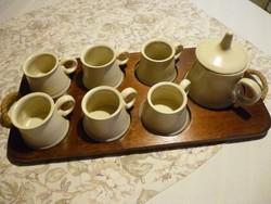 Teás kakaós reggeliző készlet