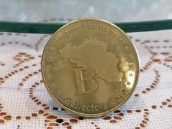 Belgian Heritage Collectors Coin Fort  Breendonk