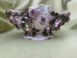 Antik porcelán kínáló áttört extra darab!