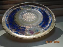 Altwien kézzel festett aranymintás kistányér