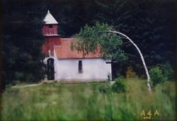 1B250 Keretezett jelzett színes művészi fotográfia 2005