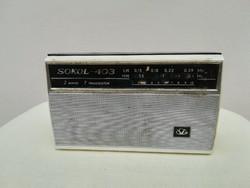 SOKOL 403 régi rádió