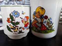 Gyermek bögre, csésze 3 db egyben