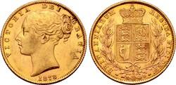 Australia, Commonwealth. Victoria AV Sovereign. Sydney, 1878.  7.98g,