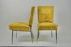 Retro fémvázas szék párban