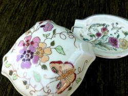 Zsolnay pillangós bonbonier+hamutál