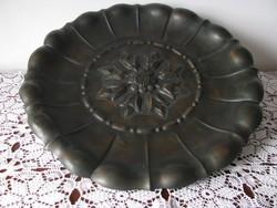 Bronz asztalközép