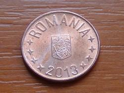 ROMÁNIA 5 BANI 2013  Rézzel bevont acél