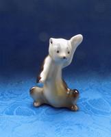 Orosz porcelán medve maci figura 11 cm (po-2)