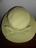 Jacques Vert kalap női masnival halványzöld új!