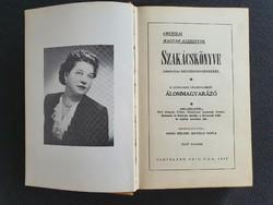 MISEK Béláné, Mathild Paula: Amerikai magyar asszonyok szakácskönyve 1948-ból