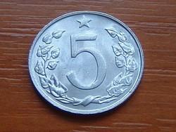 CSEHSZLOVÁKIA 5 HALERU 1967 ALU.