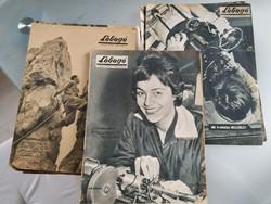 Lobogó újság hetilap 1960-as évfolyam 11 db száma