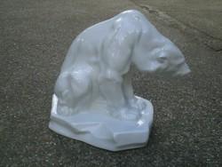 HERENDI porcelán : Jegesmedve