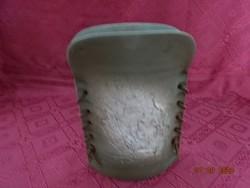 Művészi kerámia váza, jelzett. LOUB 63.