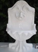 Porcelán - falikút - régi - 48 x 28 x 18 cm - belső méret 24 x 12,5 cm - fehér - különlegesség
