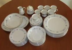 Kínai, porcelán, 8 személyes, 43 darabos étkészlet