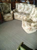 Gyönyörű neobarok 3 darabos ülőgarnitura