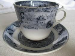 Antik Villeroy&Boch csokoládés csésze alátéttel