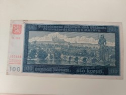 1940-es 100 Korona cseh-morva protektorátus