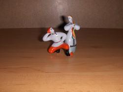 Régi orosz porcelán táncoló figura pár szobor (po1)