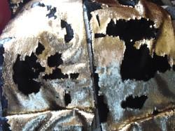 Arany / fekete flitteres asztalterítők