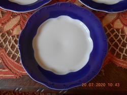 Zsolnay Pompadour alapmázas lapos tányérok