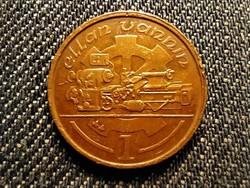 Man-sziget II. Erzsébet 1 penny 1994 PM (id25437)