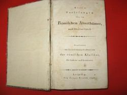 Römifchen Alterthümer nach Oberlins Tafeln 1796