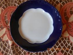 Zsolnay Pompadour alapmázas lapos tányér