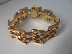 Arany női karkötő 34,4 g