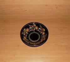 Jelzett mázas kerámia falitányér 18,5 cm (n)