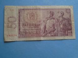 G029.58  Bankjegy -  Csehszlovákia  50 korona 1964