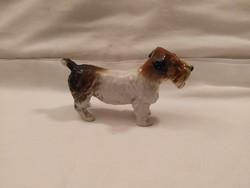 Antik ENS porcelán kutya