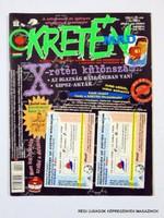 1998 augusztus  /  KRETÉN  /  SZÜLETÉSNAPRA! RÉGI, EREDETI ÚJSÁG. Szs.:  12045