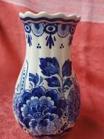 Gyönyörű kézzel festett holland váza