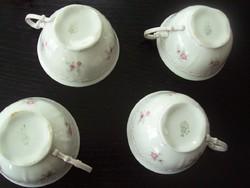 4 db zsolnay teás csésze együtt pótlásnak