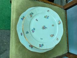Herendi porcelán lapos tányér